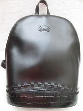 -AUTHENTIQUE  sac à dos  FRANCINEL  cuir    TBEG vintage bag