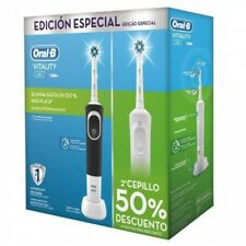 Cepillo dental Braun duo Vitality (blanconegro)