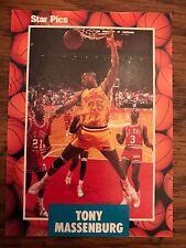 1990 Star Pics Tony Massenburg University of Maryland 22