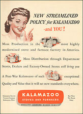 1944-Vintage ad for Kalamazoo Stoves and Furnaces`Art, retro stoves (041415)