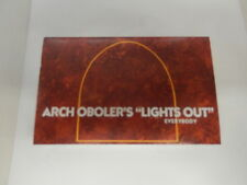 """Arch Oboler's """"Lights Out"""" Everybody CS Radio Murder Castle Revolt of the Worms"""