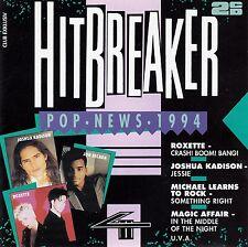 HITBREAKER - POP NEWS 4/94 / 2 CD-SET (CLUB EDITION) - TOP-ZUSTAND