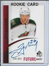 10-11 SP Authentic Cody Almond Future Watch Rookie Auto # 274