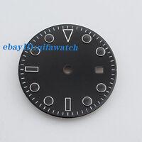 P576 Sterile 31.5mm Black Dial Kit Mingzhu 2813/3804,Miyota 82 Series Movement