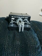 Nice! MFJ-422B Pacesetter Bencher Paddle Electronic Keyer Ham Radio CW MFJ422B