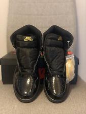 Nike Air Jordan 1 Retro High OG Black/Metallic-Gold EU 42 US 8,5 NEU OVP