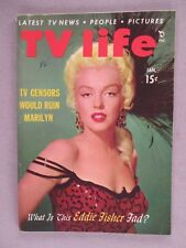 TV Life Magazine - January, 1954 ~~ Marilyn Monroe cover