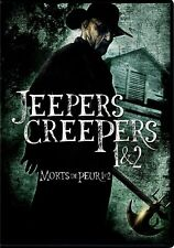 NEW DVD  - JEEPERS CREEPERS 1 + 2 - HORROR DOUBLE FEATURE - JUSTIN LONG