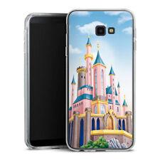 Samsung Galaxy J4 Plus (2018) Silikon Hülle Case Handyhüle - Disney Castle