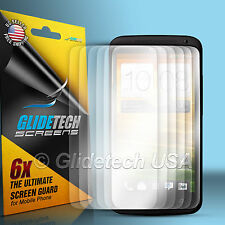 6 x Front LCD Screen Film Guard Protector For HTC ONE X S720e Free Shipping
