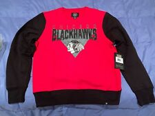 NHL Chicago Blackhawks Crew Sweatshirt Licensed Sports Apparel