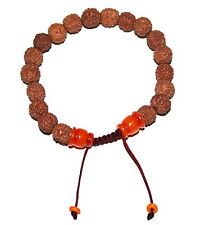 Adjustable mala Tibetan prayer beads Rudra wrist mala wrist mala meditation 21