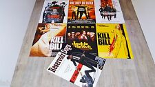 tarantino lot collection 7 affiches cinema