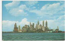 USA, New York City, Lower Manhattan Old Postcard, A815