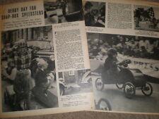 Photo article RAFA soap box derby at Leighton Buzzard 1952 ref R