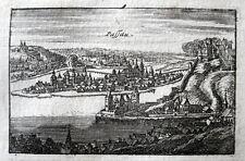 Passau 1704 Eroberung durch die Bayern Max Emanuel Spanischer Erbfolgekrieg