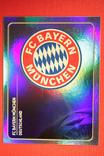 PANINI CHAMPIONS LEAGUE 2011/12 N. 5 BADGE BAYER MUNCHEN WITH BACK BACK MINT!!