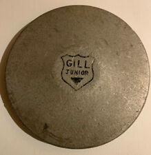 Old Antique Vintage Gill Junior Metal Discus 3 Lbs Pounds