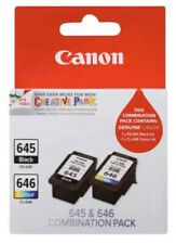 canon ink cartridges 645 646 Twin Pack Genuine Canon