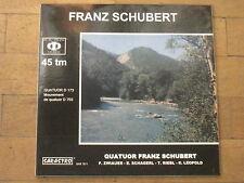 "SARASTRO AUDIOPHILE FRENCH 12"" LP 45 RPM QUATUOR FRANZ SCHUBERT MILLER & KREISEL"