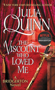 NEW The Viscount Who Loved Me By Julia Quinn Paperback Free Shipping