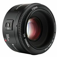 YONGNUO YN EF 50MM F/1.8 Auto & manual Focus Lens For Canon EF Mount EOS Camera