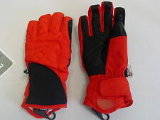 Reusch Ski Gloves LEATHER PALMS Noa RTex Womens Small (7) 2787216  Red&Black