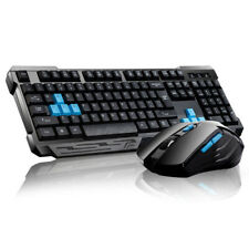New ListingWireless Gaming Keyboard And Mouse Set Bundle 6 Key 2.4Ghz For Laptop Pc tt