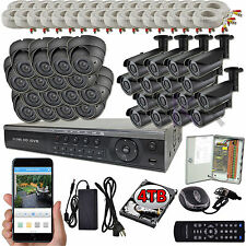 Sikker 32 Ch Channel DVR 1080P 2 Megapixel Vari-focal Camera Security system 4TB