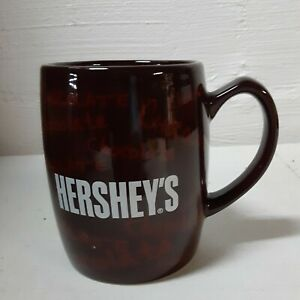 Jaxxi Hershey's Chocolate Barrel Shaped Coffee Mug / Tea Cup Excellent Condition