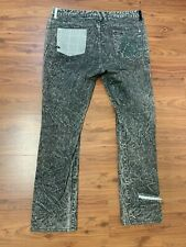 Mac Skinny Fit Jeans im Stone Washed-Look Damen Hose Mittelgrau NEU