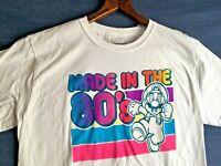 "Authentic Super Mario Bros. ""Made In The 80's"" T-Shirt - SNES NES Nintendo 1980s"