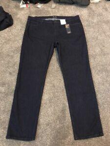 M&s Indigo Low Rise  SLim Jeans Size 20 Regular  Bnwt Free Sameday Postage