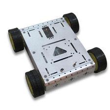 4WD Drive Aluminum Smart Car Robot Platform for Arduino UNO MEGA2560 Duemilanove