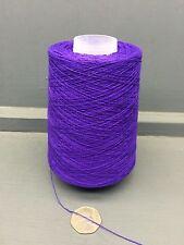 200g 2 / 30nm 100% fils de soie violet