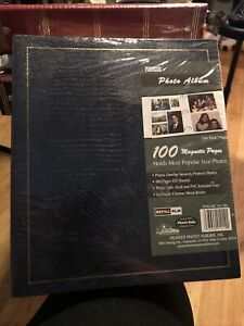 Pioneer Photo Album With 100 Magnetic Pages Photo Safe - Brown  LM-100