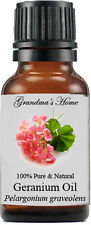 Geranium Essential Oil - 15 mL - 100% Pure and Natural - Free Shipping
