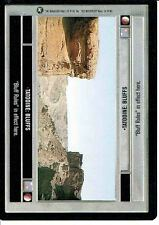 STAR WARS CCG A NEW HOPE BLACK BORDER TATOOINE: BLUFFS