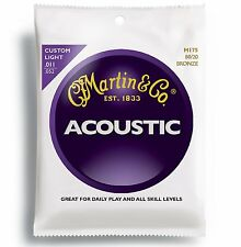 Martin / M-175 Custom Light  Acoustic Guitar Strings 011 | 052