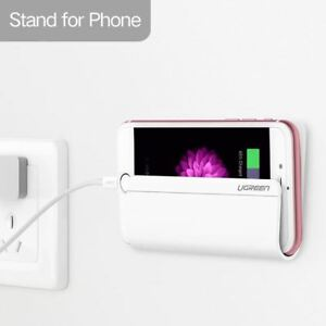 Wall Mount Smart Phone Tablet Holder Adhesive Stand Charging for Samsung iPhone