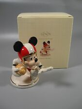 Lenox Disney Varsity Mickey Mouse Football Figurine NEW in box