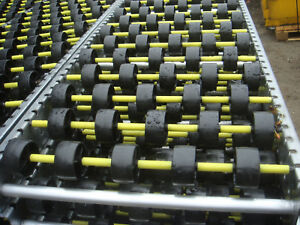 Gravity Roller conveyors. Price per m up to 5km available. 390mm & 290mm wide.