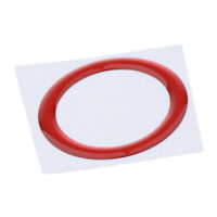 Car Accessories Bling Decors Button Start Switch Red Ring PVC for bmw
