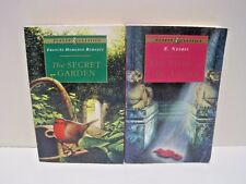 The Story of the Amulet & The Secret Garden: Puffin Classics Lot of 2 Paperbacks