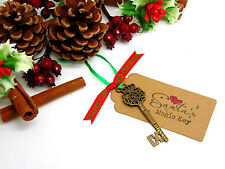 Handmade Santa's Magic Key Eve Tradition Kids Novelty Father Christmas D128