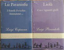 Lu Paraninfu I fratelli Ficicchia Ammatula -Ccu i'nguanti gialli -Capuana Pirand