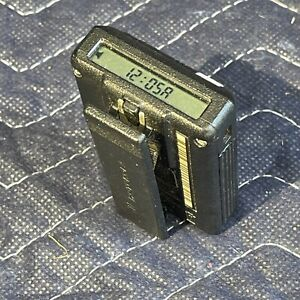 Vintage Motorola Pager Beeper With Belt Clip Wireless Works