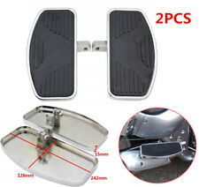 2PCS Adjustable Motorcycle Left+Right Front Rider Floorboards Foot Boards Pedal