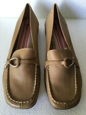 Bass Loafers Tan Brown Size 11 M Rubber Soles