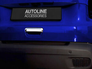 Chrome Rear Door Handle Trim Tailgate Cover To Fit Jeep Renegade (2019-)